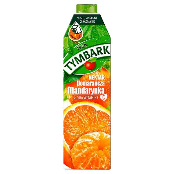 Tymbark Nektar pomarańcza mandarynka 1 l