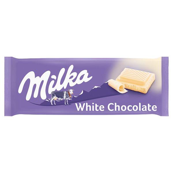 Milka Czekolada biała 100 g
