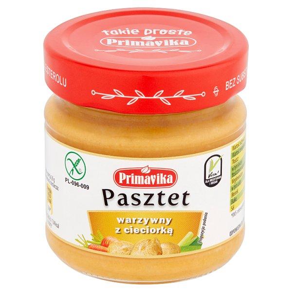 Primavika Pasztet warzywny z cieciorką 160 g