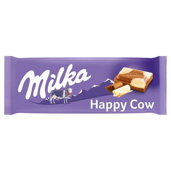 Milka Czekolada mleczna Happy Cow 100 g