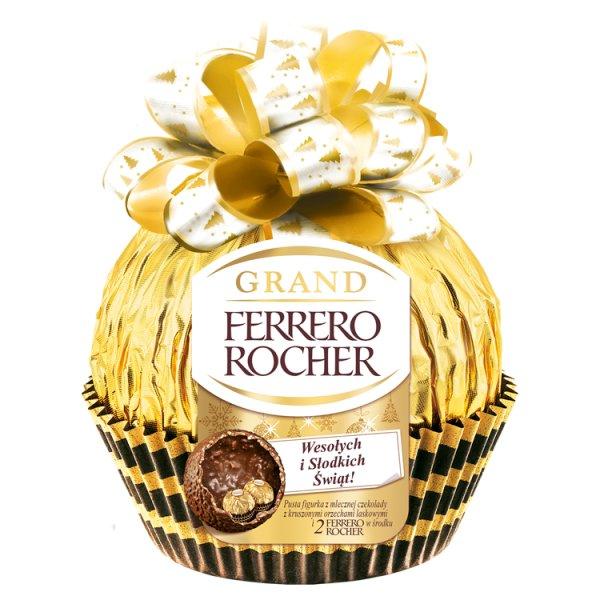 Ferrero Rocher Grand Figurka z mlecznej czekolady 130,5 g