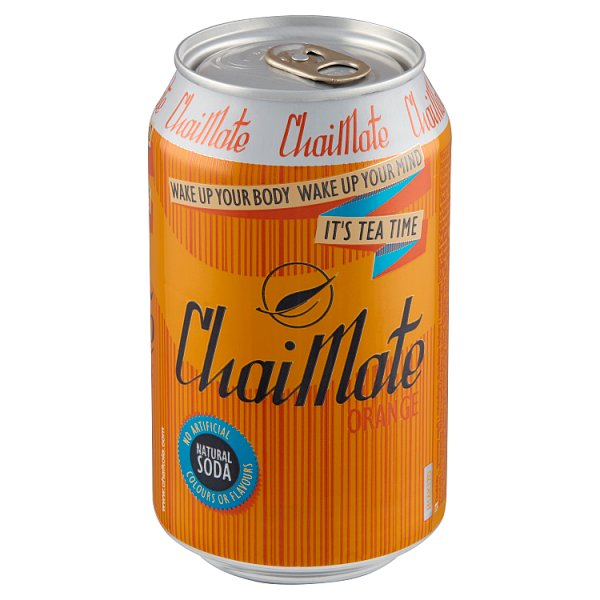 ChaiMate Gazowany napój z naturalnym ekstraktem herbaty 330 ml
