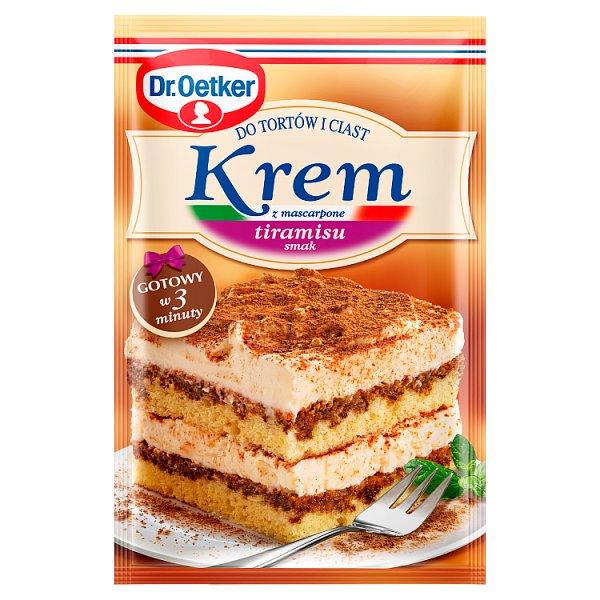 Dr. Oetker Krem do tortów i ciast z mascarpone smak tiramisu 122 g