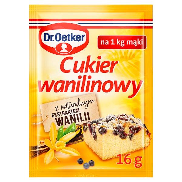 Dr. Oetker Cukier wanilinowy premium 16 g