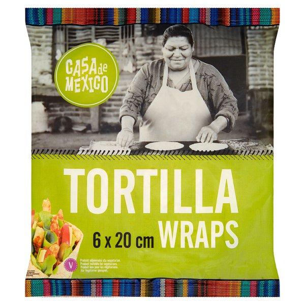 Casa de Mexico Tortilla wrap 20 cm 240 g (6 sztuk)