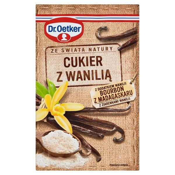 Dr. Oetker Ze świata natury Cukier z wanilią 12 g