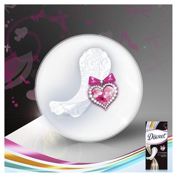 Discreet Multiform Irresistible Oddychające Wkładki Higieniczne x60