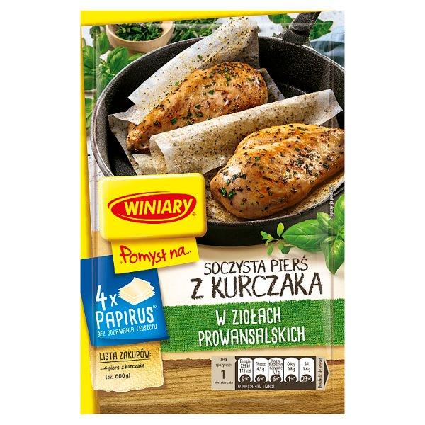Winiary Pomysł na... Soczysta pierś z kurczaka w ziołach prowansalskich 23,4 g