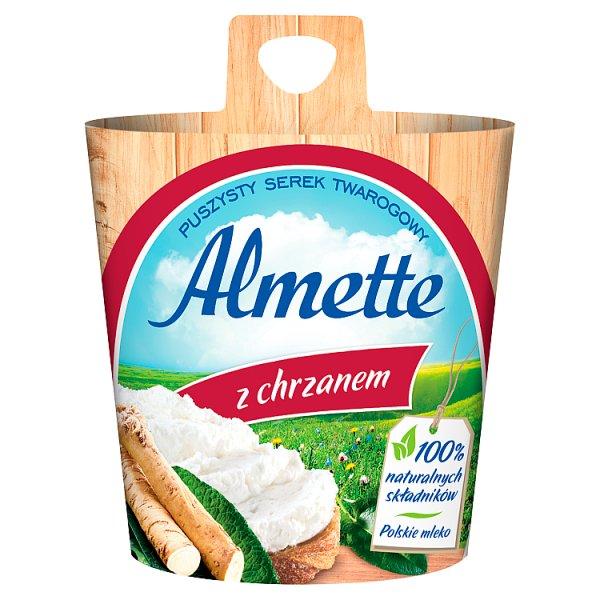 Almette Puszysty serek twarogowy z chrzanem 150 g