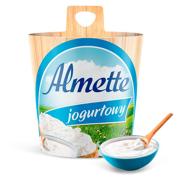 Almette Puszysty serek twarogowy jogurtowy 150 g
