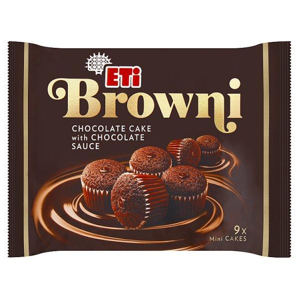 Eti Browni Babeczki z czekoladą i nadzieniem czekoladowym 180 g