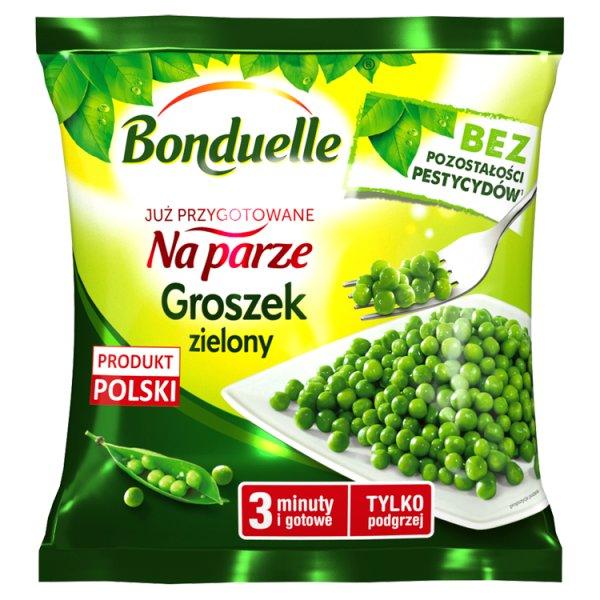 Bonduelle Już przygotowane na parze Groszek zielony 400 g