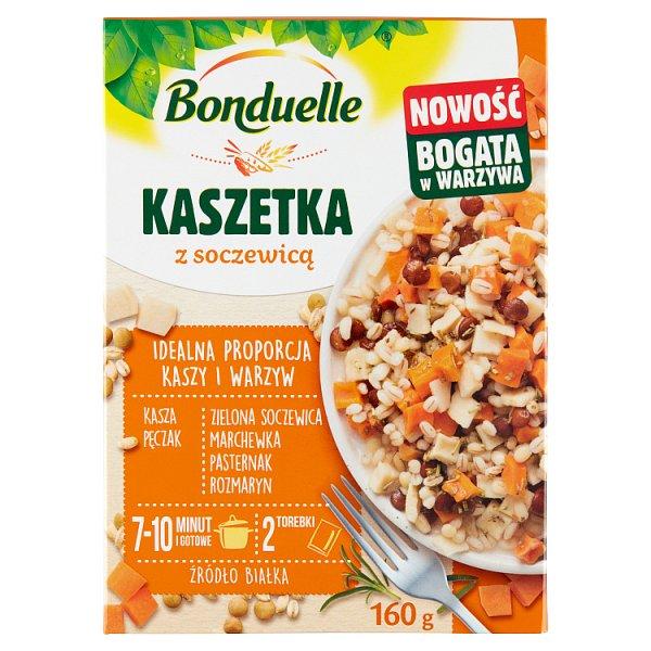 Bonduelle Kaszetka z soczewicą 160 g (2 torebki)
