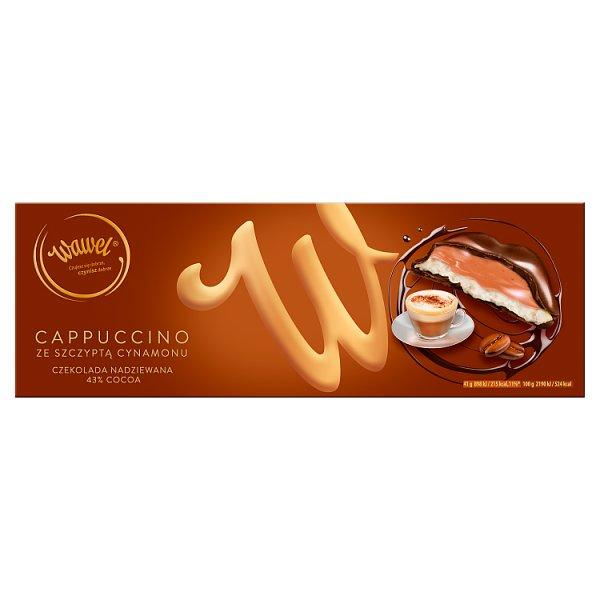 Wawel Cappuccino ze szczyptą cynamonu Czekolada nadziewana 290 g