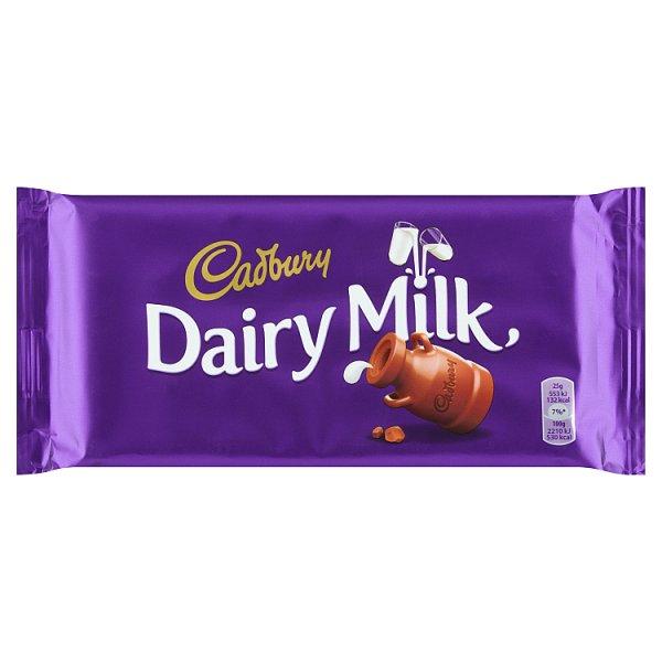 Cadbury Czekolada mleczna familijna 200 g