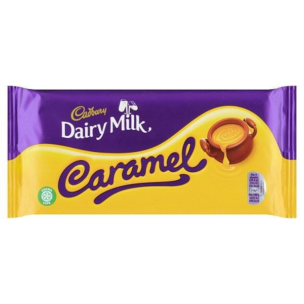 Cadbury Czekolada mleczna familijna z nadzieniem karmelowym 200 g