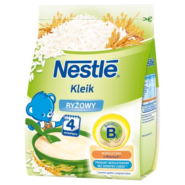 Nestlé Kleik ryżowy dla niemowląt po 4. miesiącu 160 g