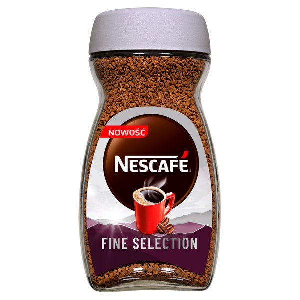 Nescafé Fine Selection Kawa rozpuszczalna 185 g