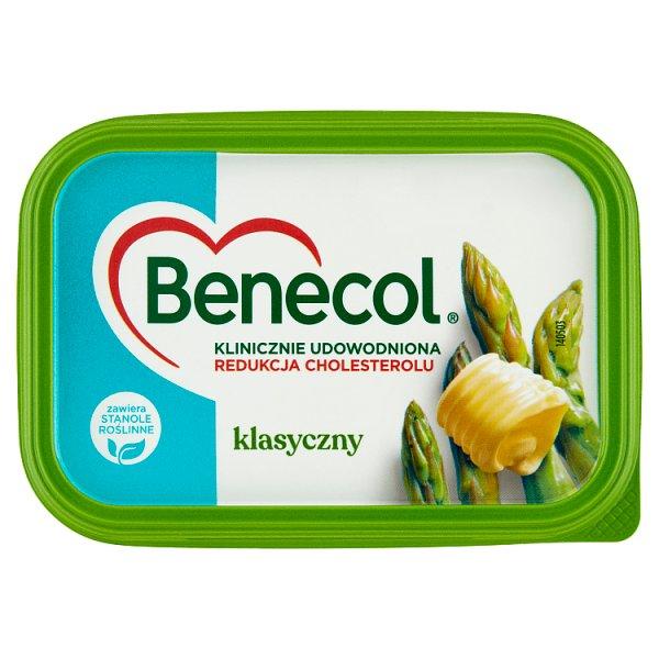 Benecol Tłuszcz do smarowania z dodatkiem stanoli roślinnych klasyczny 225 g