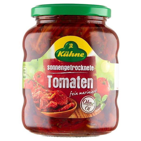 Kühne Suszone pomidory z ziołami w marynacie słodko-kwaśnej bez dodatku oleju 340 g