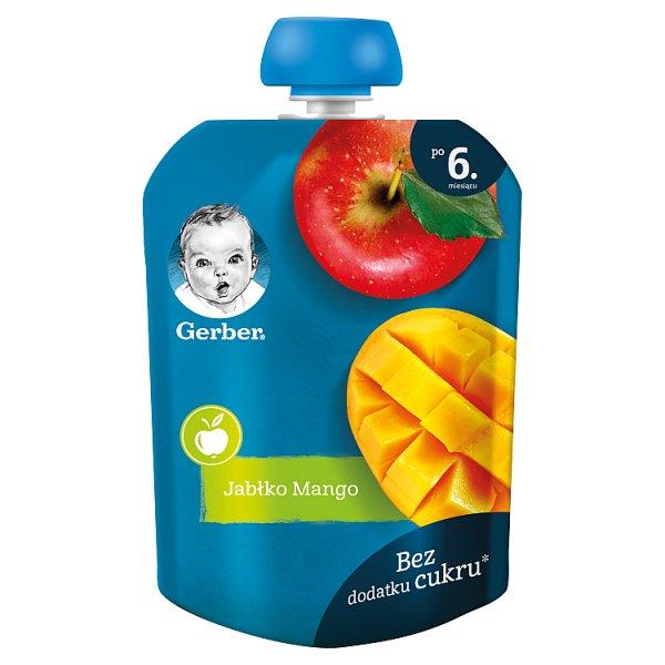 Gerber Deserek jabłko mango dla niemowląt po 6. miesiącu 90 g