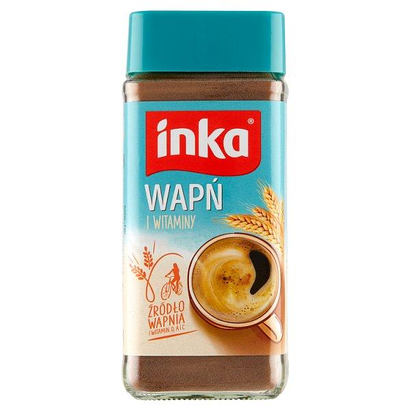 Inka Rozpuszczalna kawa zbożowa wzbogacona w wapń i witaminy 100 g