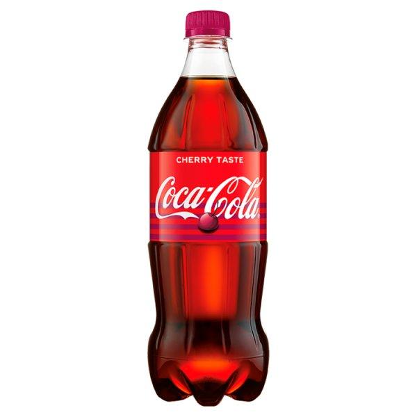 Coca-Cola Cherry Taste Napój gazowany 850 ml