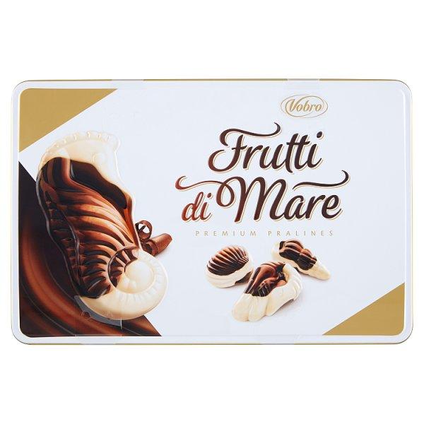 Vobro Frutti di Mare Praliny z kremem karmelowym orzechowym mlecznym i kakaowym 350 g
