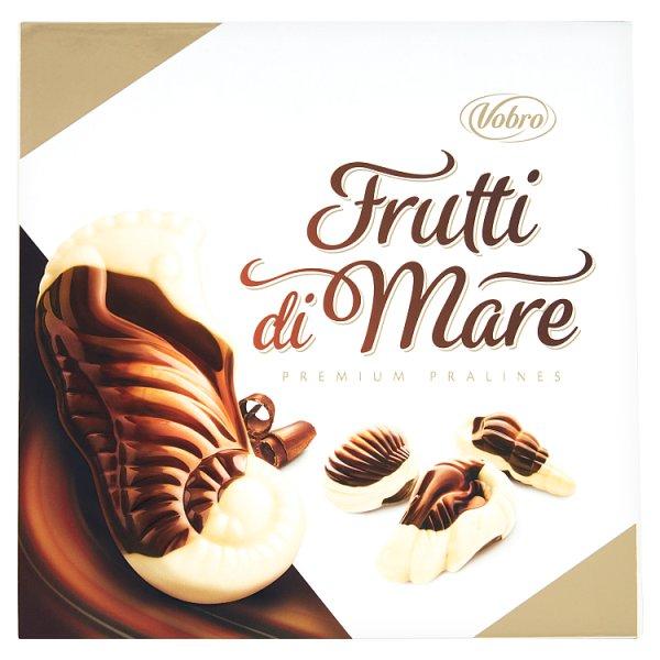 Vobro Frutti di Mare Praliny z kremem karmelowym orzechowym mlecznym i kakaowym 225 g