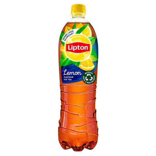 Lipton Ice Tea Lemon Napój niegazowany 1,5 l
