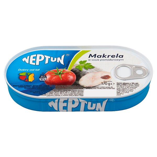 Neptun Makrela w sosie pomidorowym 170 g