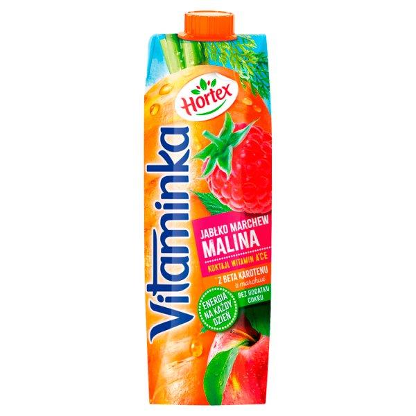 Hortex Vitaminka Sok jabłko marchew malina 1 l