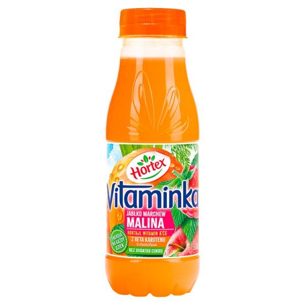 Hortex Vitaminka Sok jabłko marchew malina 300 ml