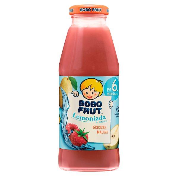 Bobo Frut Lemoniada gruszka malina dla niemowląt po 6. miesiącu 300 ml