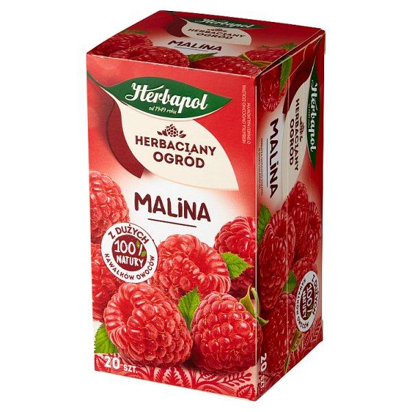 Herbapol Herbaciany Ogród Herbatka owocowo-ziołowa malina 54 g (20 x 2,7 g)