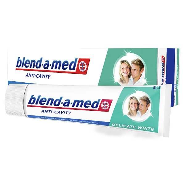 Blend-a-med Anti-Cavity Delicate White Pasta do zębów 100ml