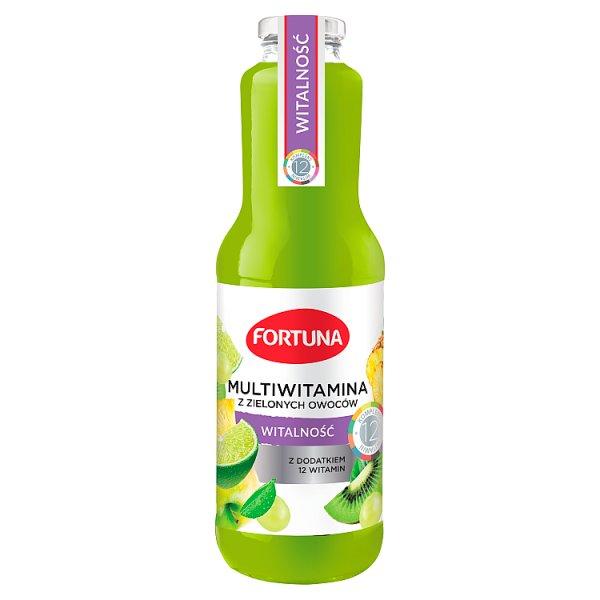 Fortuna Napój witalność multiwitamina z zielonych owoców 1 l
