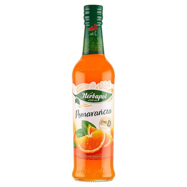 Herbapol Syrop o smaku pomarańczowym 420 ml