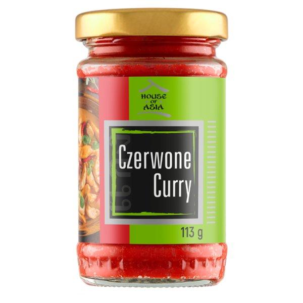 House of Asia Pasta czerwone curry 113 g