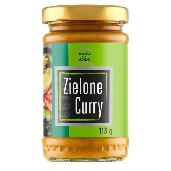 House of Asia Pasta zielone curry 113 g