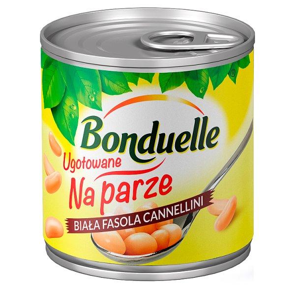 Bonduelle Ugotowane na parze Biała fasola Cannellini 175 g