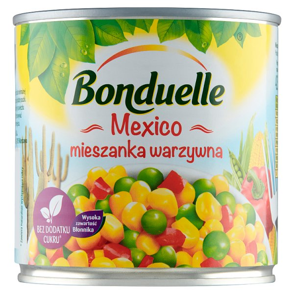 Bonduelle Mexico Mieszanka warzywna 340 g