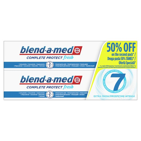 Blend-a-med Complete Protect 7 Extra Fresh Pasta do zębów 200ml