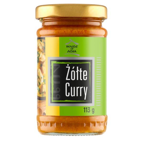 House of Asia Pasta żółte curry 113 g