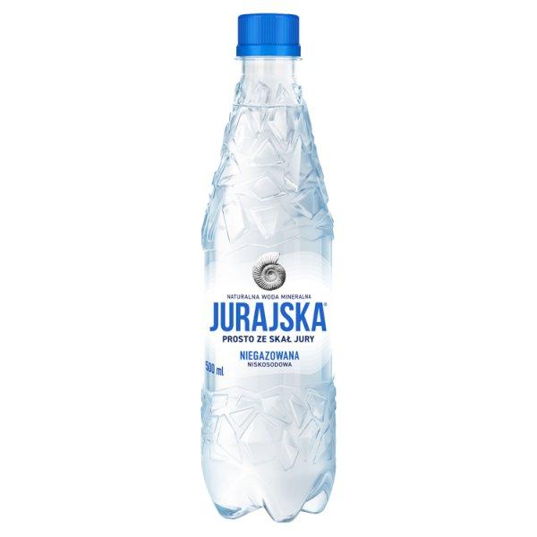 Jurajska Naturalna woda mineralna niegazowana 500 ml