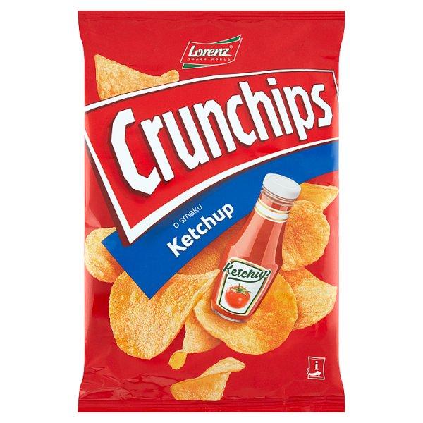 Crunchips Chipsy ziemniaczane o smaku ketchup 140 g
