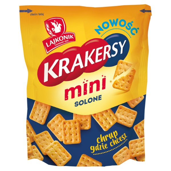 Lajkonik Krakersy mini solone 100 g