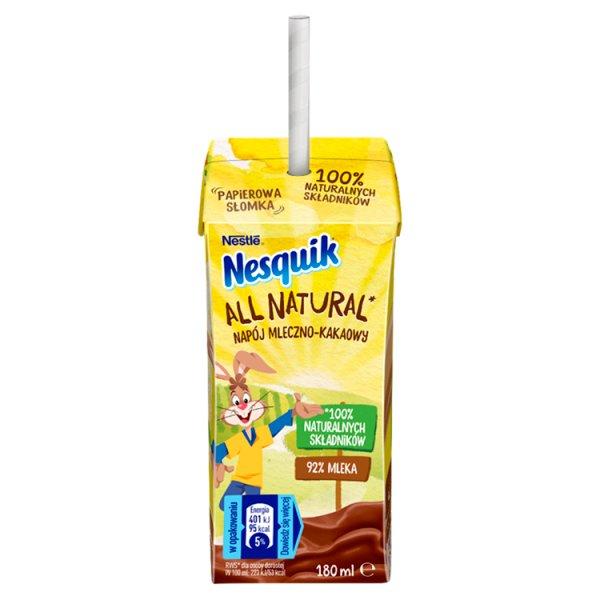 Nesquik Napój mleczno-kakaowy 180 ml