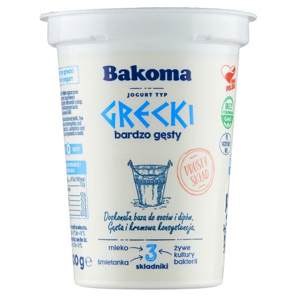 Bakoma Jogurt typ grecki 400 g