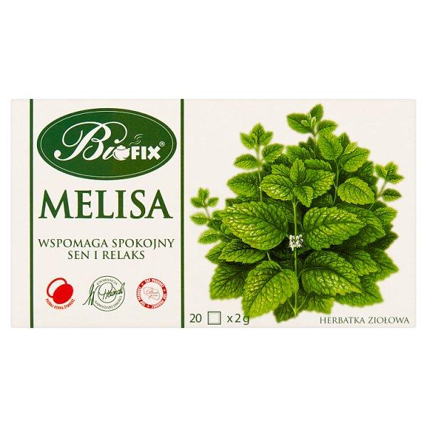 Bifix Herbatka ziołowa melisa 40 g (20 x 2 g)
